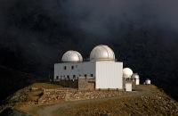 Observatorio del Instituto de Astrofísica de Andalucía en Sierra Nevada (Granada).