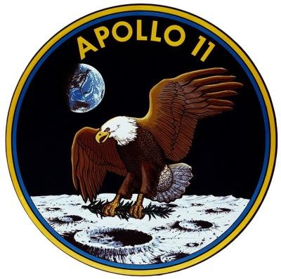 Anagrama de la misión Apolo 11