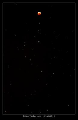 Luna cielo