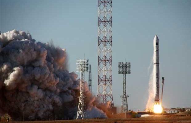 Cohete Zenith que lanzó al espacio la sonda Phobos-Grunt