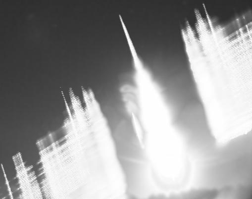 Imagen que muestra las líneas de emisión de espectro del bólido (Estación de detección de bólidos del Observatorio de Calar Alto)