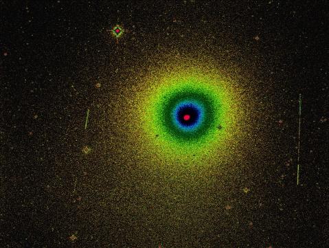 Cometa Wirtanen, extensión de la coma y gradientes de brillo (1), A. Porcel, M. Sánchez (SAG/OLA)