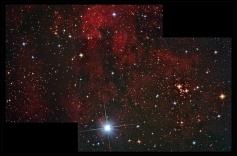 Nebulosa IC1318 (mosaico)