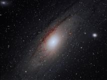 Galaxia de Andrómeda - M31