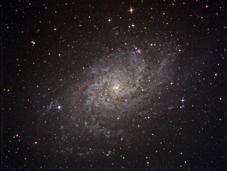 Galaxia del Triangulo - M33