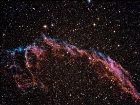 Nebulosa del Velo (sección este) - NGC 6960, Caldwell 33