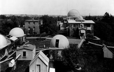 El Observatorio de Harvard en 1899