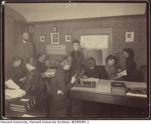 Las mujeres calculadoras del Observatorio del Harvard College