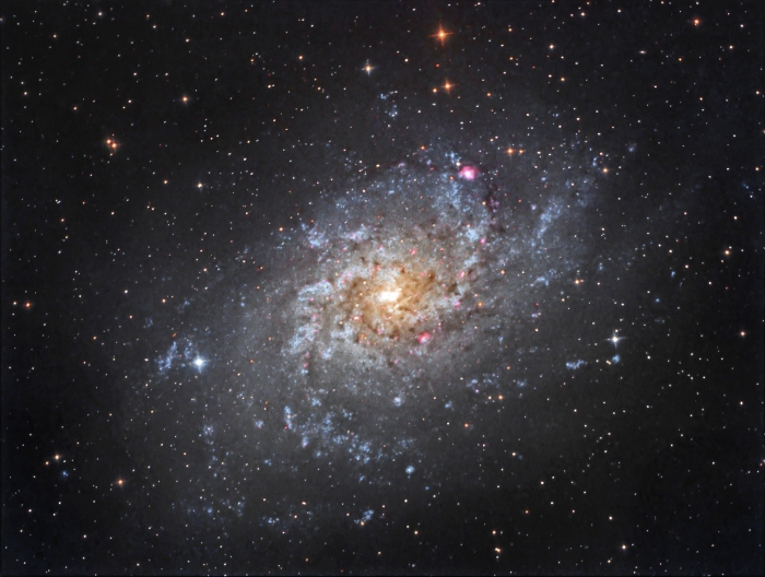 Galaxia del Triángulo (M33 o NGC 598) - A.Porcel (SAG / OLA)