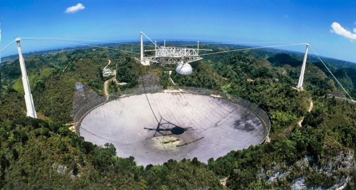 RADIOTELESCOPIO DE ARECIBO (National Astronomy and Ionosphere Center - NAIC)