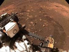 La perseverancia vaga por Marte