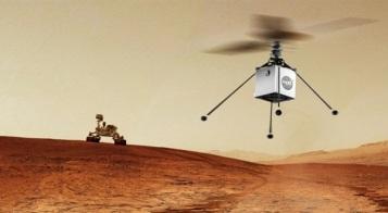 El helicóptero autónomo Ingenuity